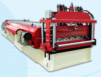 Step tile roofing roll forming machine