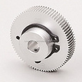 Anti backlash spur gear Module 0.8 Aluminium Made in Japan KG STOCK GEARS