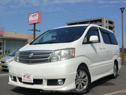 Right hand drive and Good looking japanese import cars sale toyota alphard 2003 used car at reasonable prices