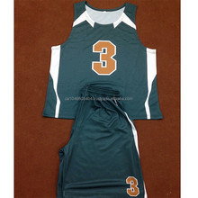 Basketball uniforms for college teams