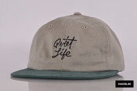 snapback promotion various color custom embroidery design caps quiet life