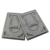 24x32.7x15cm grey Plastic Bead Design