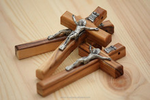 Olive Wood Small Orthodox Crucifixes