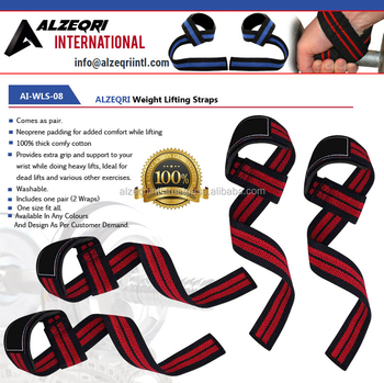 Weight Lifting Straps Padded Grip Fitness Gym Accessories