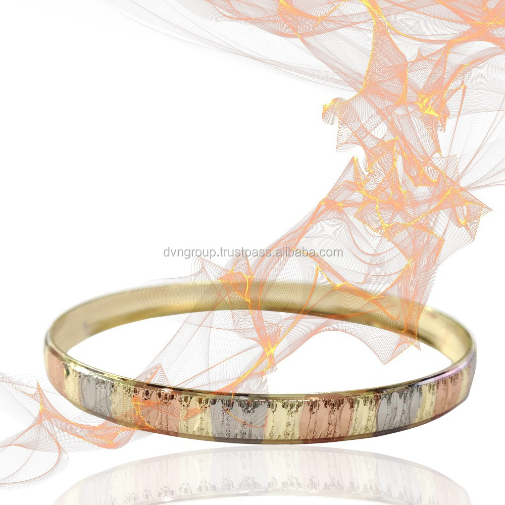 Tri Color Bangle With Indian Designing