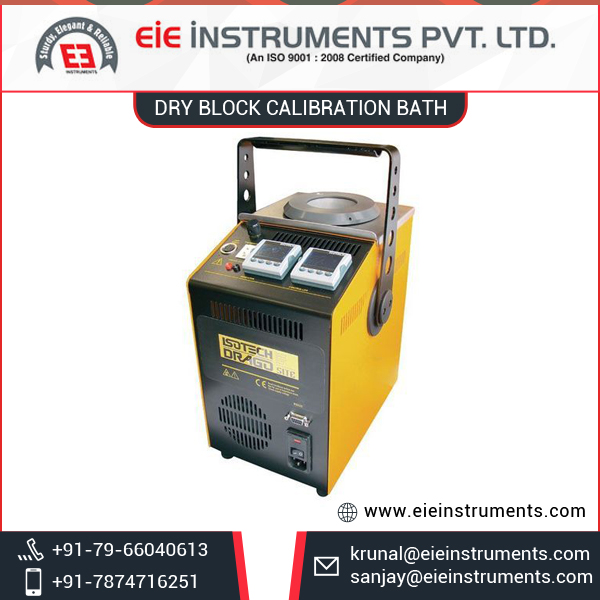 Leading Manufacturer Supplying Dry Block Calibration Bath at Considerable Price