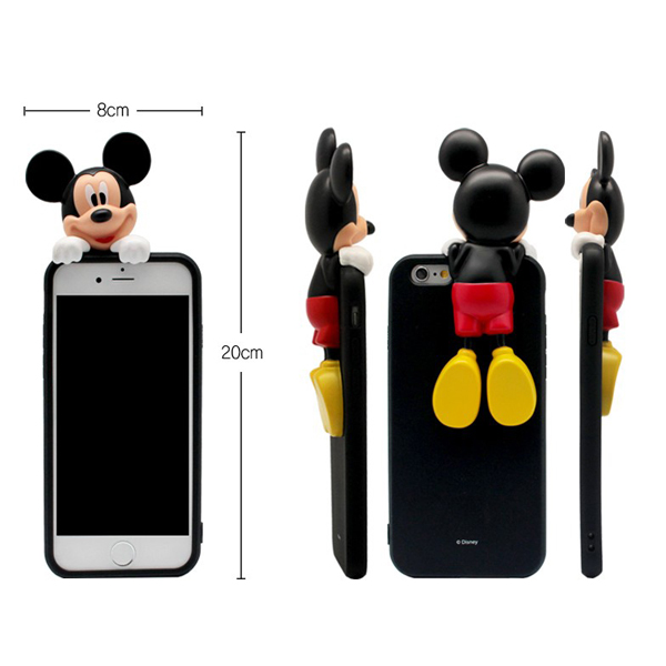 00083 For Galaxy S6 S5 Note5 Note4 Note3 Popular Design Disney Art Jelly TPU Jelly Smart Cellular Mobile Phone Case Cover Casing