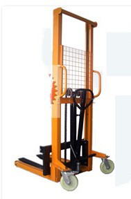 manual lifter stacker, manual forklifter, pakistan manual lifter hand stacker 1 ton capacity