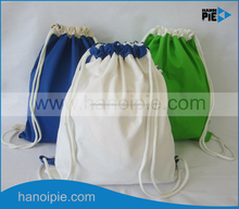 Vietnamese Hanoipie manufacturer gift cotton bag with cotton long handle