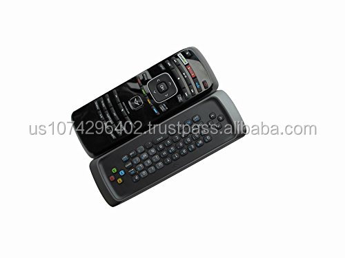 Universal Replacement Remote Control Fit For Vizio VBR337 Blu-ray BD DVD Player QWERTY Dual side keyboard