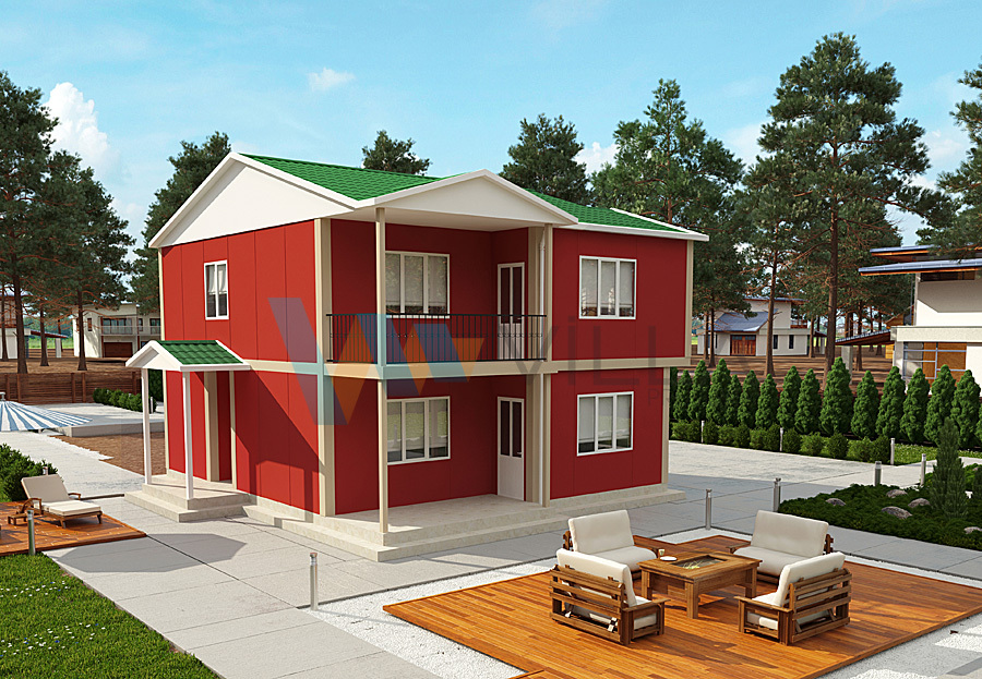 Two-storey Prefabricated House VP723