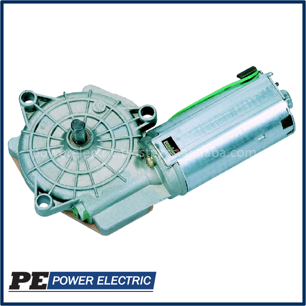 24v Brushed Worm Gear Motor used in patient lifts - PE403290