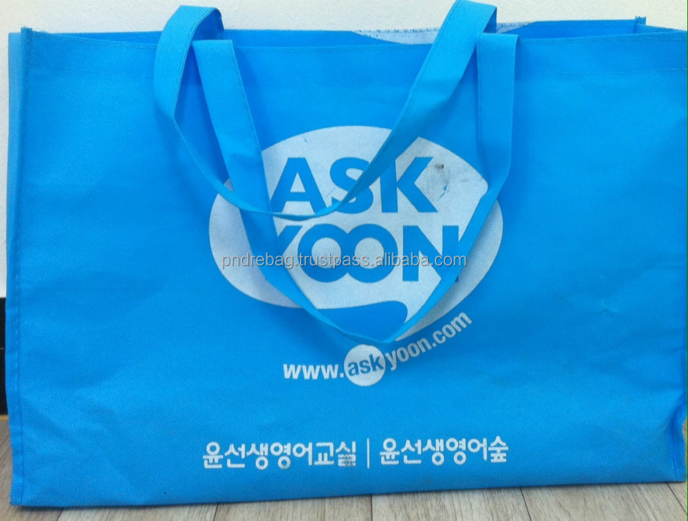 PP non woven bag shopping bag LOW MOQ CHEAP price full color printing shopping bag