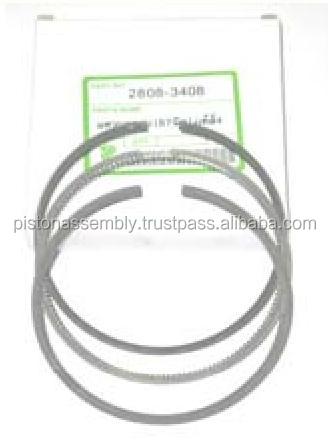 kubota engine spare parts piston ring l3408 87mm. p n 1a091-21050