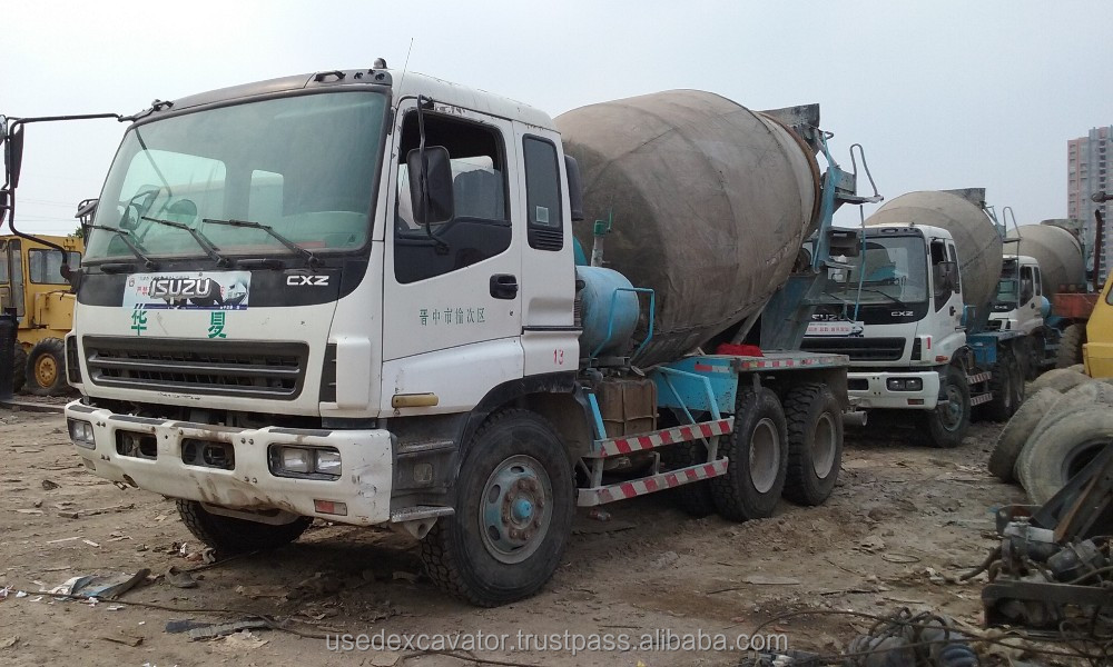 Used Cement Mixer Concret Mixer Lorry ISUZU Lorry
