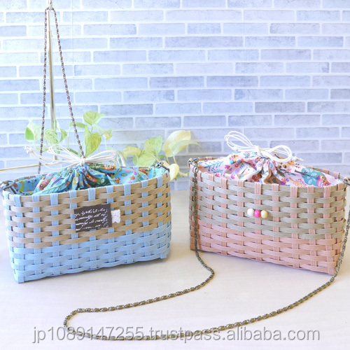 Colorful and Handmade paper shopping bag Craft-Tape at reasonable prices