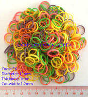 Natural colorful rubber band with 80% Rubber content / High Quality Rubber bands for daily uses