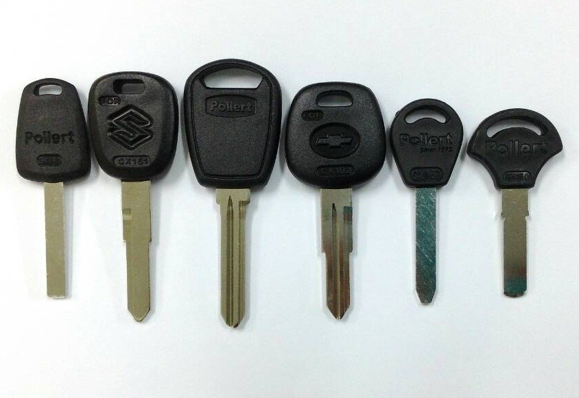 Car Key Blanks Plastic Head