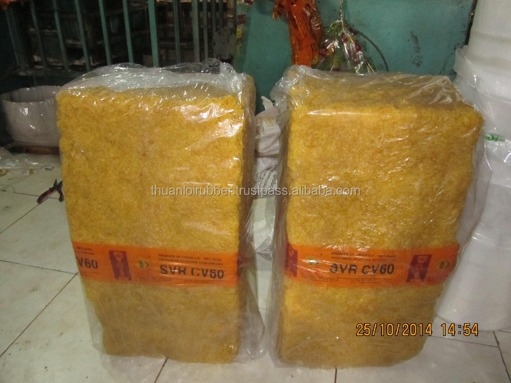 BEST PRICE NATURAL RUBBER SVR CV60 - VIETNAM RUBBER HIGH QUALITY