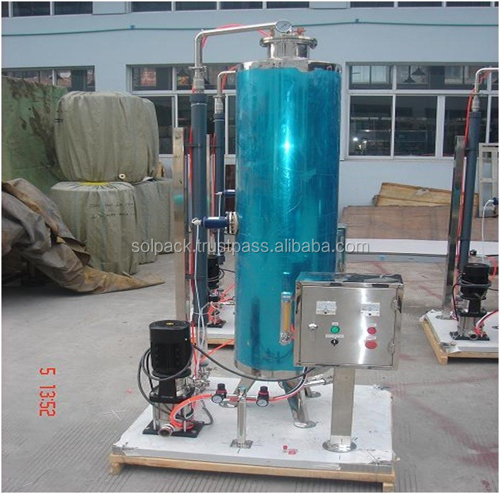 Carbonated Mixing Machine For Soft Drink Production Plant