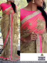 saree hand work saree designs fancy saree blouse designs