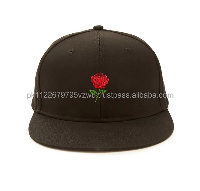 Beautiful Style Wholesale woven snapback hat with Custom Embroidery, Bulk