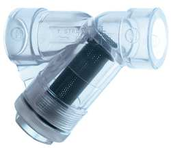 Y-Strainer 2 In Threaded Clear PVC