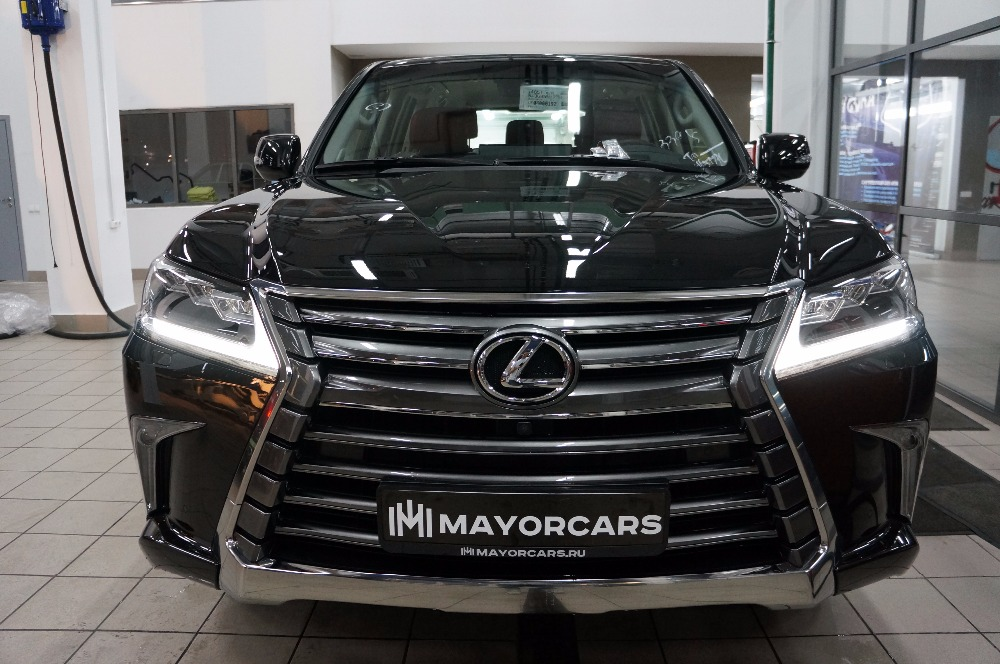 LEXUS LX450d 2016 executive 1 4.5 DIESEL 272Hp BLACK/RED leather