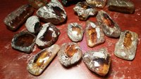 Mexican Amber Stones AAA good shape and color