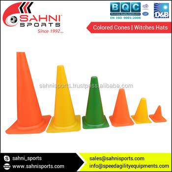Colored Cones | Witches Hats