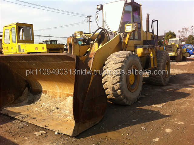Used Komatsu Wheel Loader WA400-1, Japanese Komatsu Front End Loader for sale