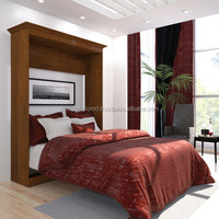 Wooden Classic New Pattern Design Wall Bed for sale