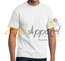 Zega Apparel T shirt wholesale Pakistan bulk sale custom printing design 50 cotton 50 polyester custom tshirt