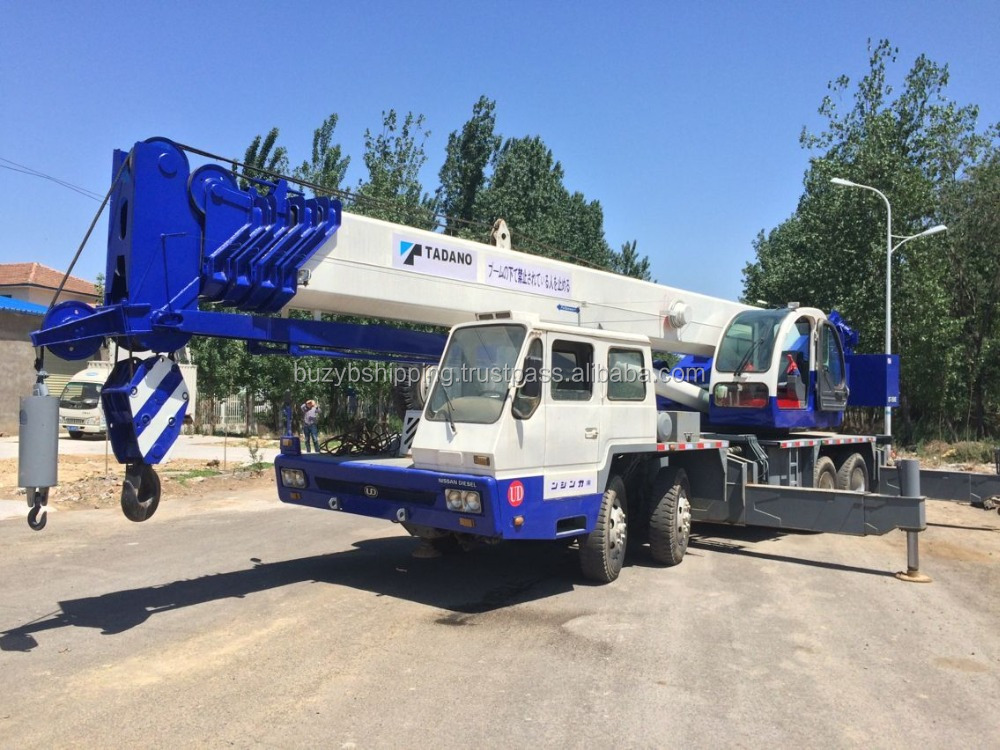 Used tadano mobile truck crane 55ton 50ton 65ton 25ton 30ton 120ton for sale!