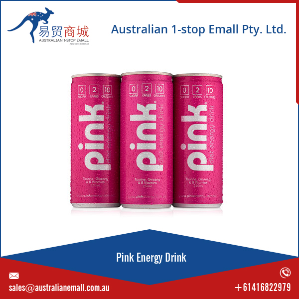 100% Refreshing Pink Energy Drink at Best Price