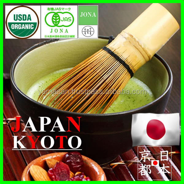 Healthy and reliable Kyoto Uji Japanese Organic Green Tea leaf drink wholesale