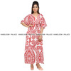 Summer Women Casual Wear Kaftan 100%Cotton Plus Size Hand Made Shirt Long Maxi Dress kaftan Tunic Long Kaftan