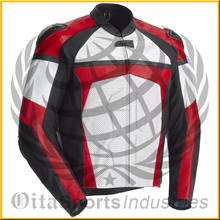 Certified CE Approve Motorcycle/Motorbike Biker Protective Premium Quality Cow Grain Leather Jacket