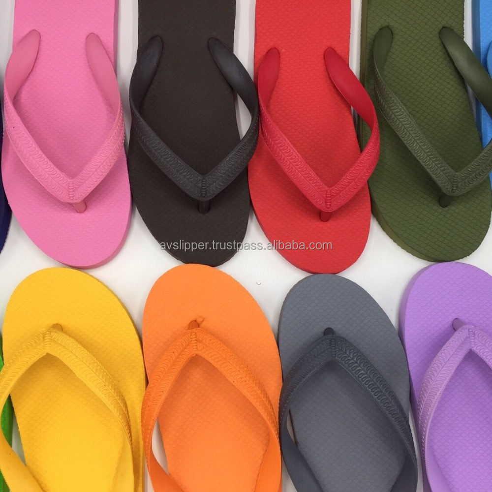 Solid color slipper 01