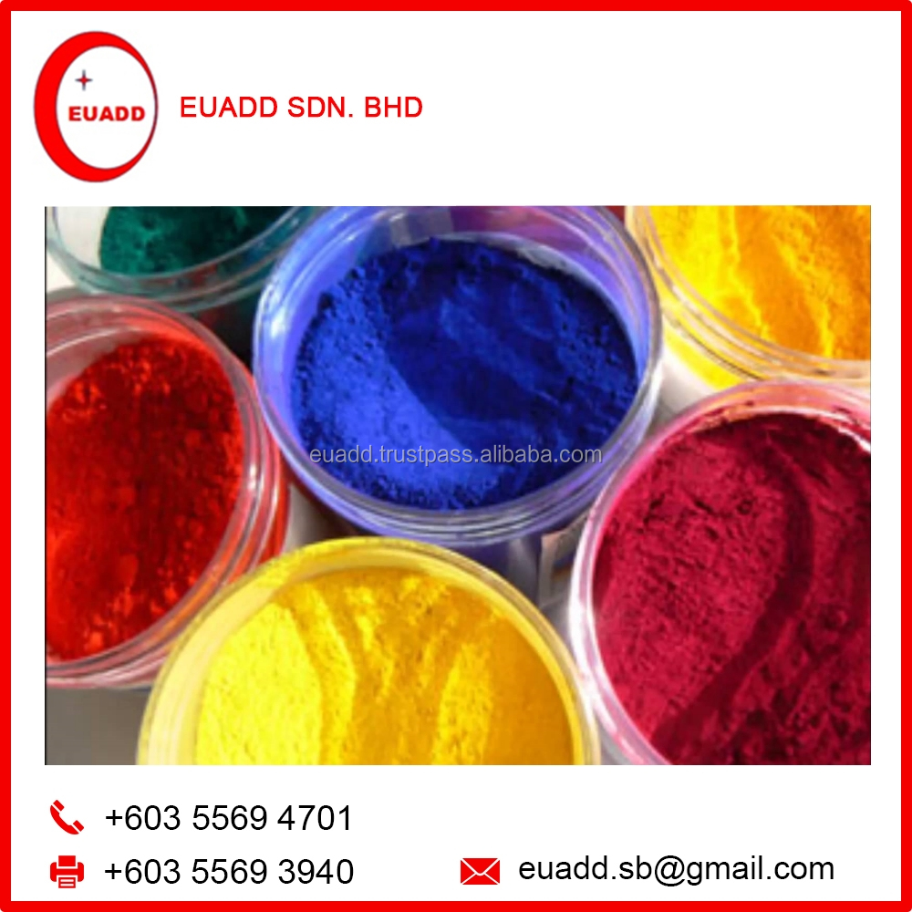 Organic / Inorganic Color Pigment Powder from Malaysia