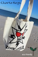Promotional Canvas Tote bag with Rock star print