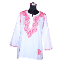 DR154 2016 New Arrival Fancy Kurta For Hot Summer Chicken Designer Ladies Kurti