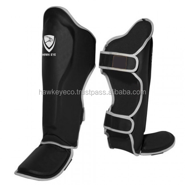 MMA Shin Instep Guard Leg Pads Protective Muay Thai Boxing Training Kickboxing