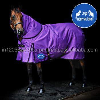 Wholesale Ripstop Detachable NeckHorse Blankets Turnout Horse Rugs