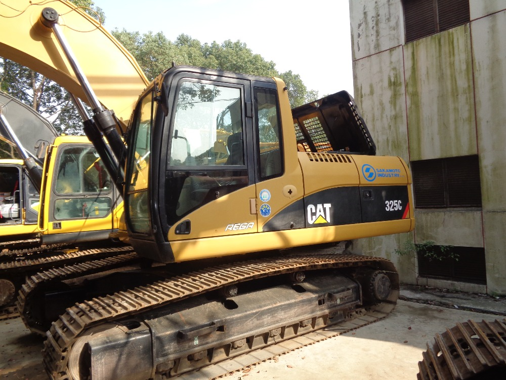 Used building excavator CAT 325C, Caterpillar used crawler excavator 325C for sale!