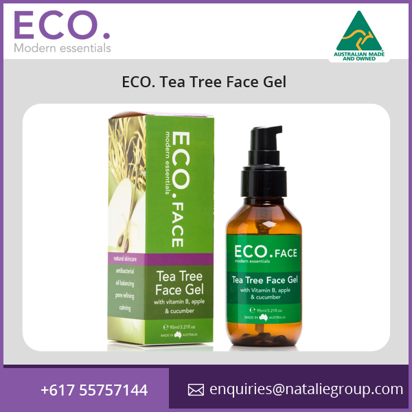 ECO. Tea Tree Face Gel perfect for Oily Skins
