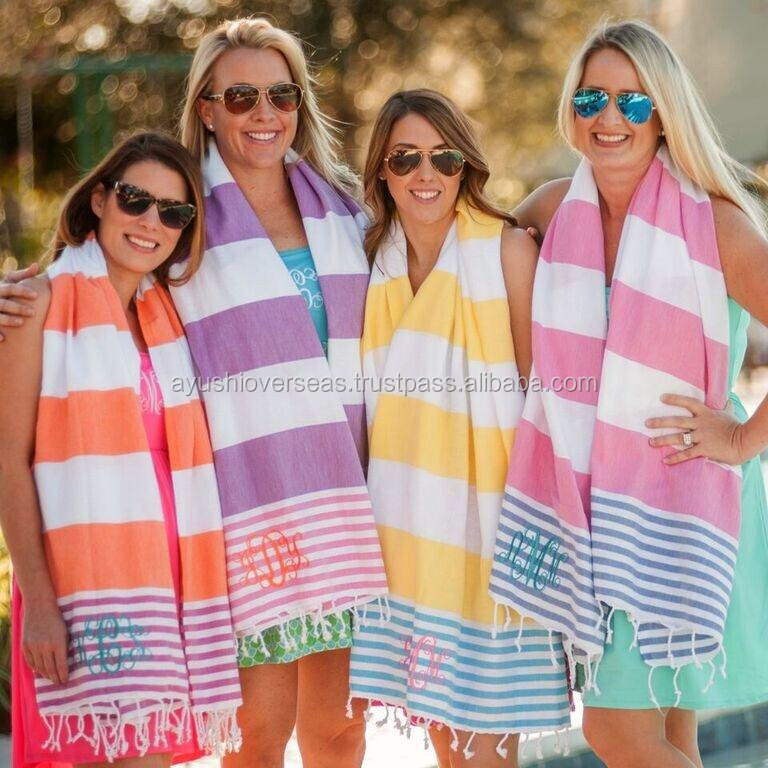 100-PERCENT TURKISH HAMMAN BEACH BATH SAUNA PESHTEMAL FOUTA TOWELS SEXY WRAP WITH FRINGES WHOLESALE