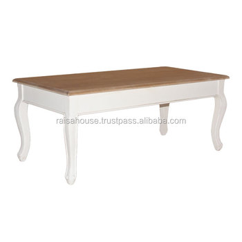 Jepara Shabby Chic Furniture-York Coffee Table Indonesia Furniture
