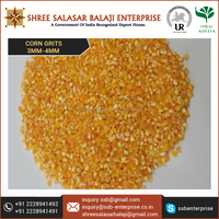 Highly Pure and Refined Yellow Corn Grits 3mm for Wholesale Market Rates