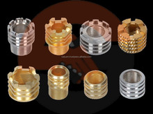 "1/2 "", 1/4"", 1"", 3/4"", 2"" NPT BSP threaded Brass PPR inserts with Chrome or nickel plating"